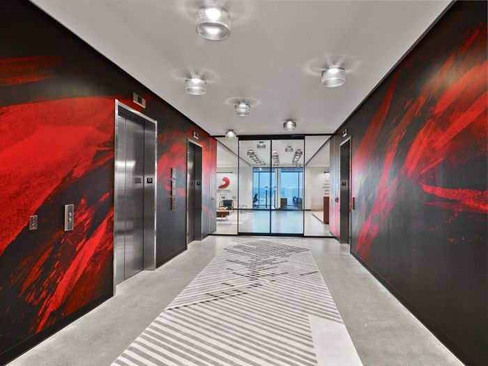 音乐与活力-纳什维尔索尼音乐创意办公室设计