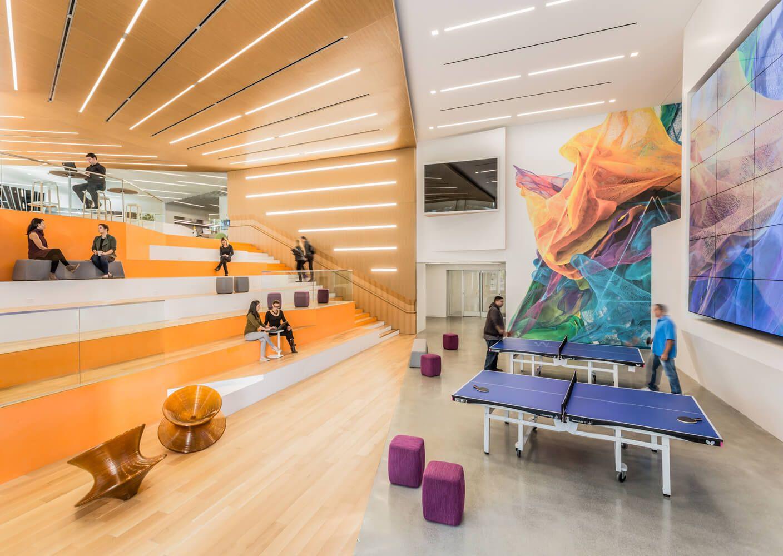 美国加利福利亚Adobe总部改造设计