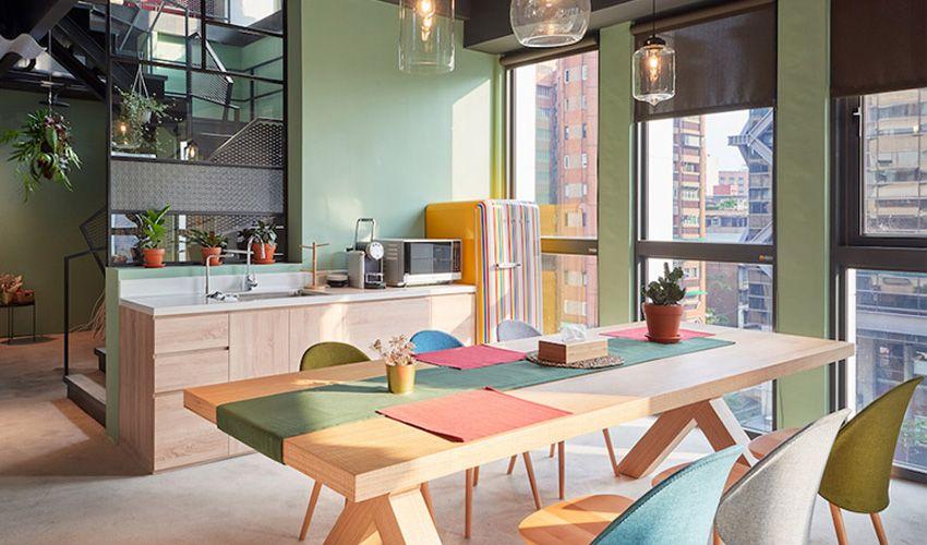 一家好玩的办公室—台北Kafnu共享空间