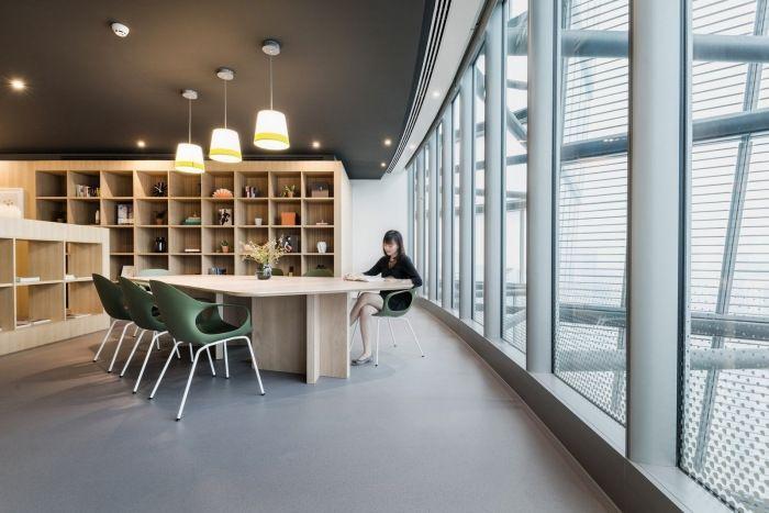 与自然相融,上海SPACES上海大厦办公室设计