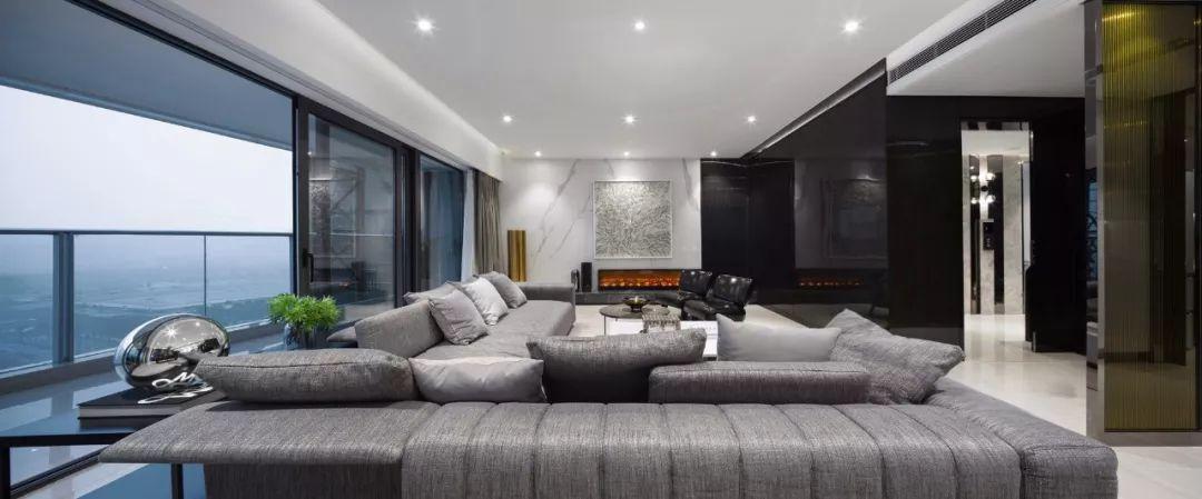 克制的优雅:四套精致样板房软装设计 | 天艺陈设