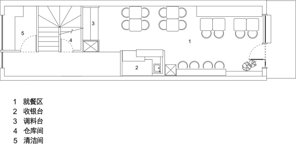 复古元素和色调构成的仪式感,浙江晓面馆 | 维乐邸设计