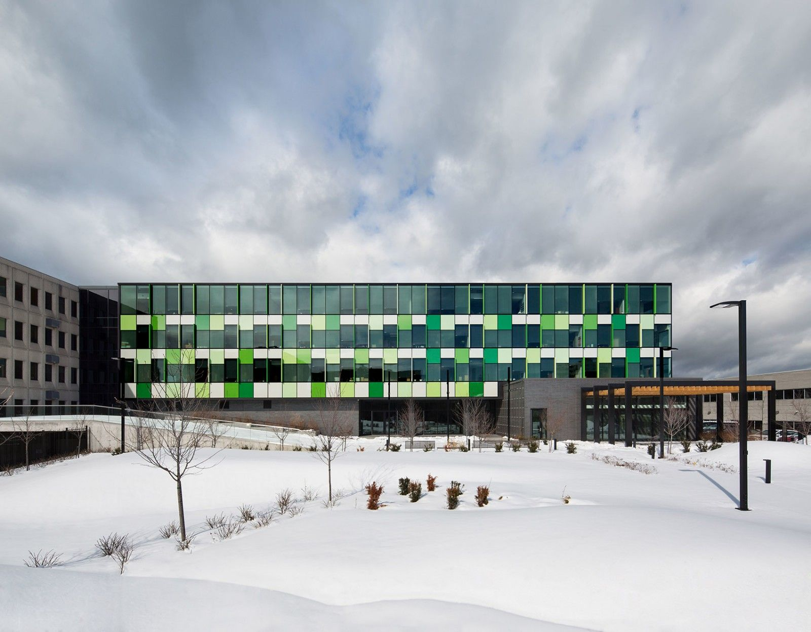 CSN总部办公楼扩建,加拿大 / BGLA + NEUF architect(e)s