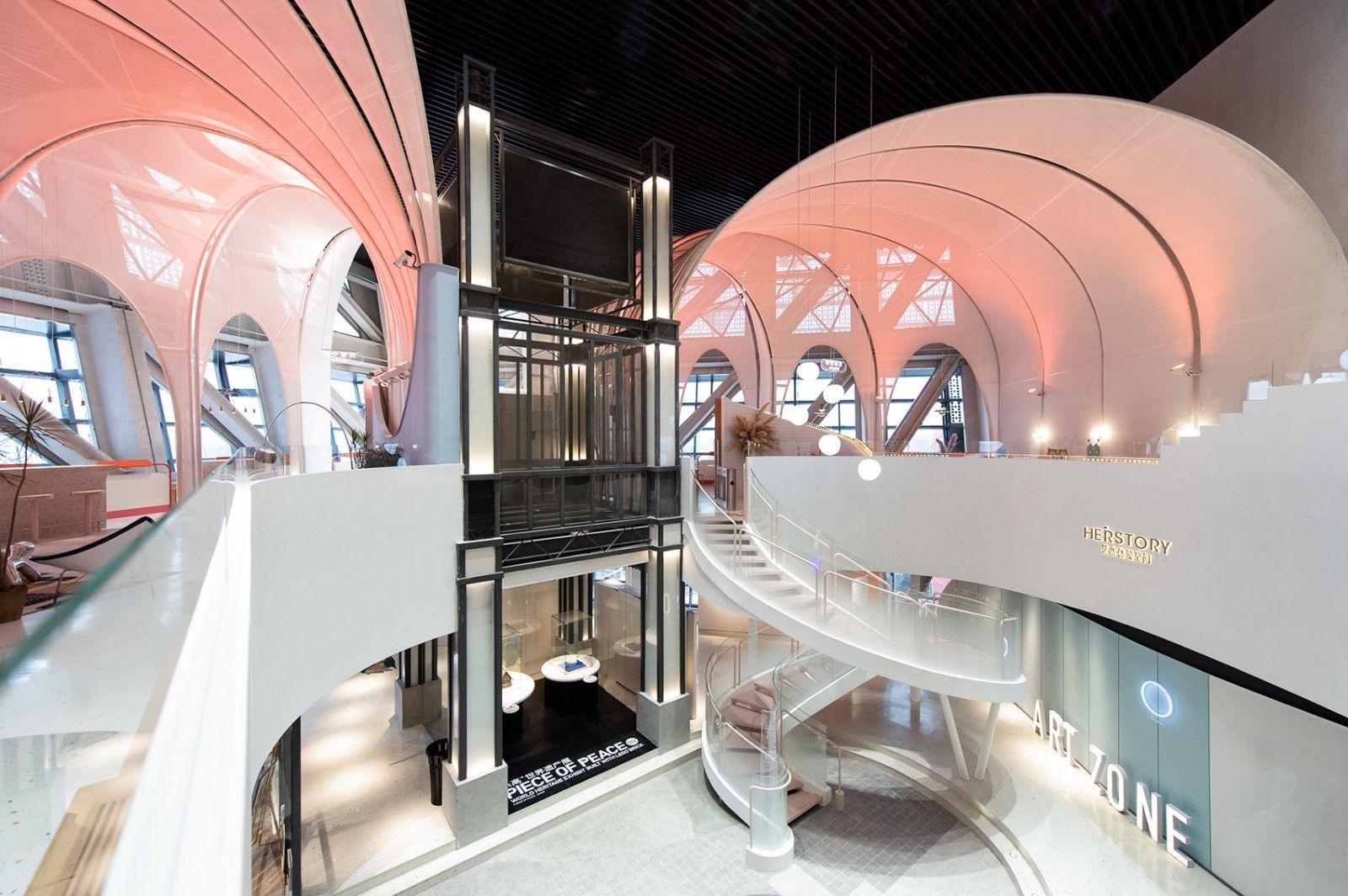 长风大悦城会员空间,上海 / 裸筑更新 裸筑更新建筑设计 - 3