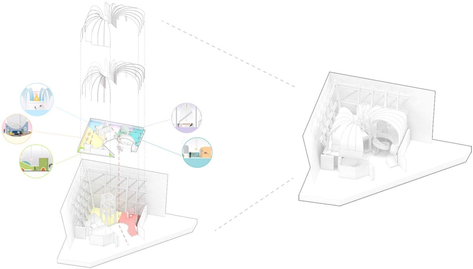 长风大悦城会员空间,上海 / 裸筑更新 裸筑更新建筑设计 - 43