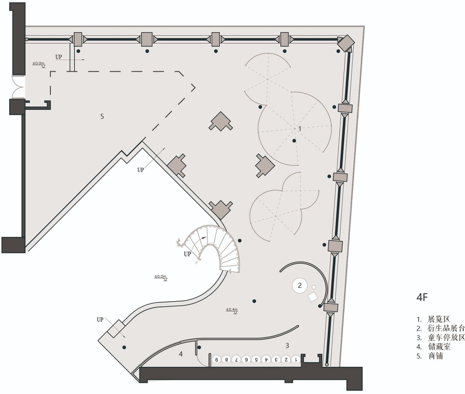 长风大悦城会员空间,上海 / 裸筑更新 裸筑更新建筑设计 - 35