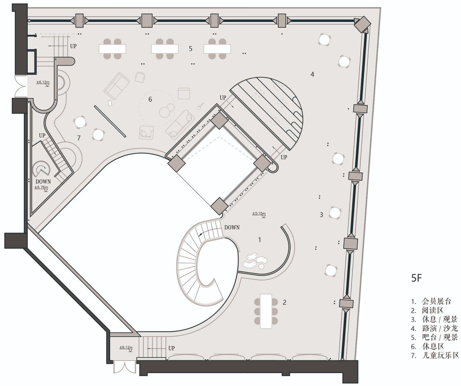 长风大悦城会员空间,上海 / 裸筑更新 裸筑更新建筑设计 - 36