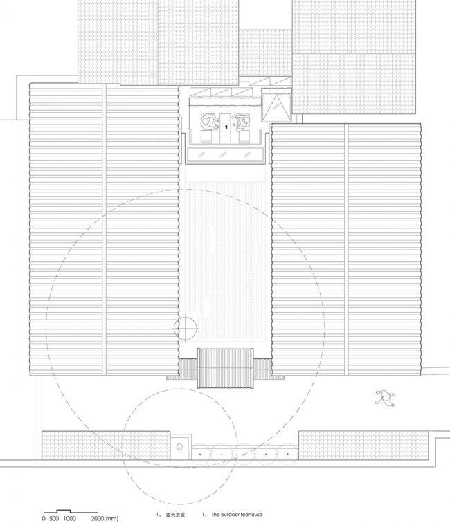 低成本、微介入,改造四合院成静谧茶室 | 兼建筑