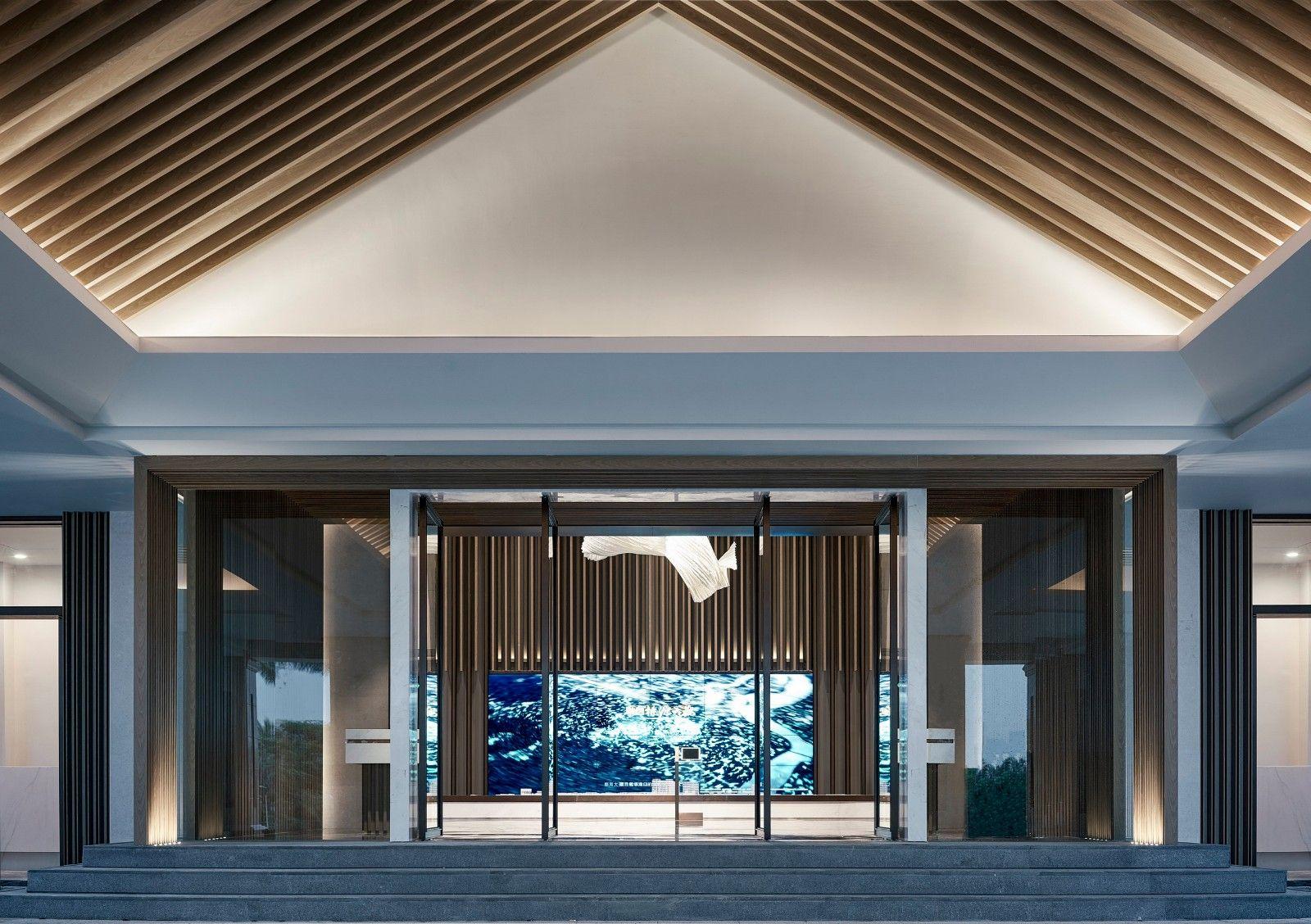 海南融创桃园大观展示中心  飞视设计