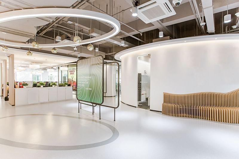 在自带旋律的办公室里,工作都像是一支协奏曲 | 飞睿建筑设计
