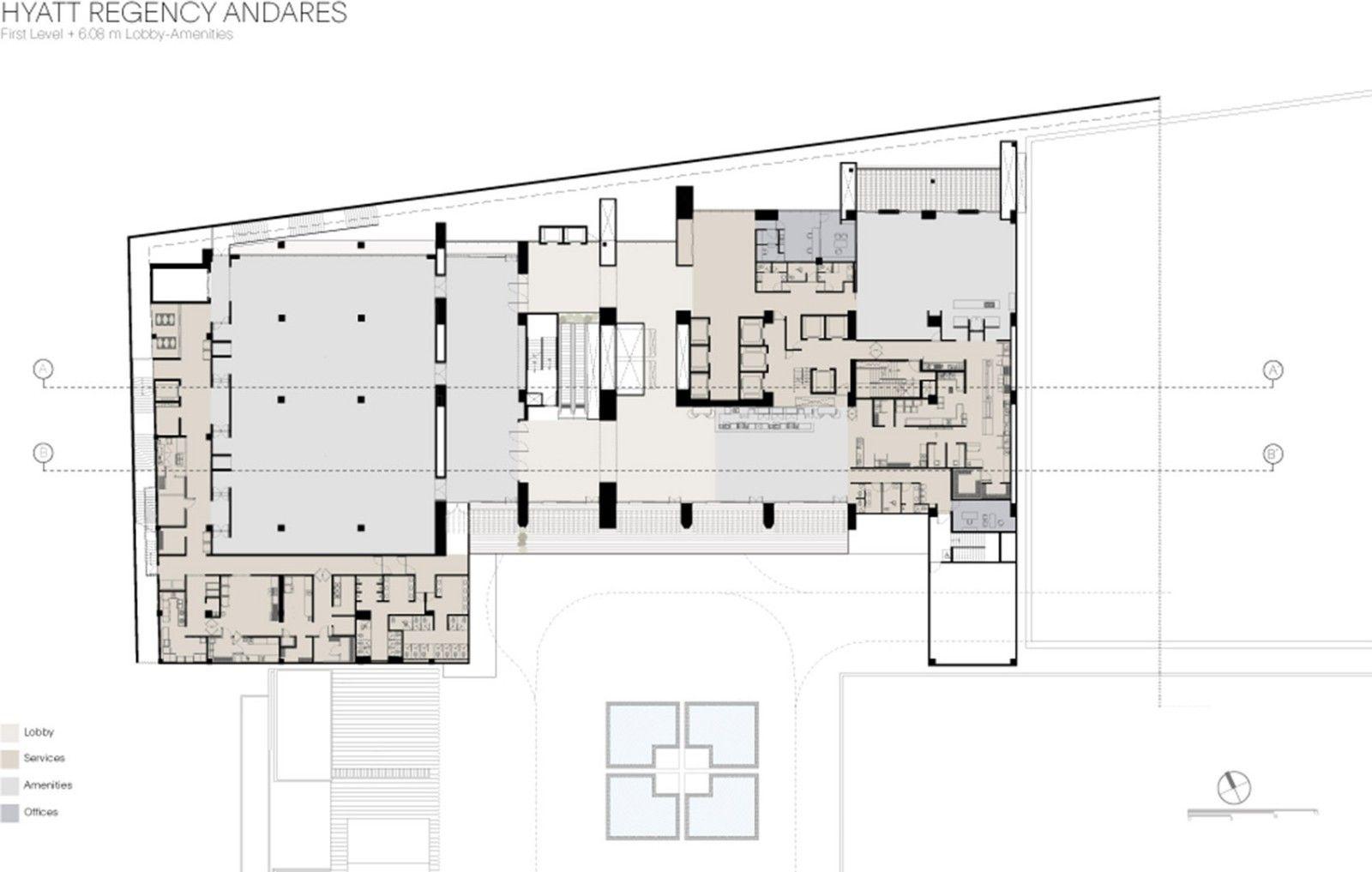 Andares凯悦酒店及公寓塔楼,墨西哥 / Sordo Madaleno Arquitectos