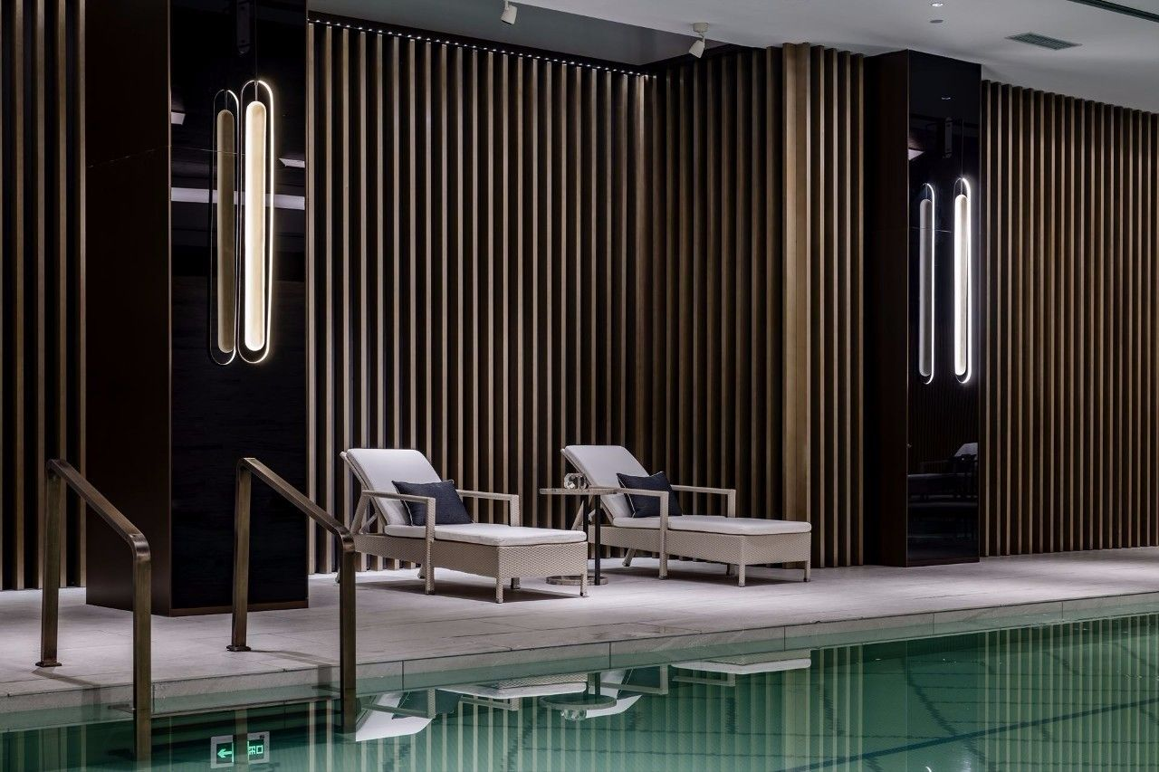 新作 | 凌子达新作•亚克力灯片打造出具有现代时尚美学的感官空间