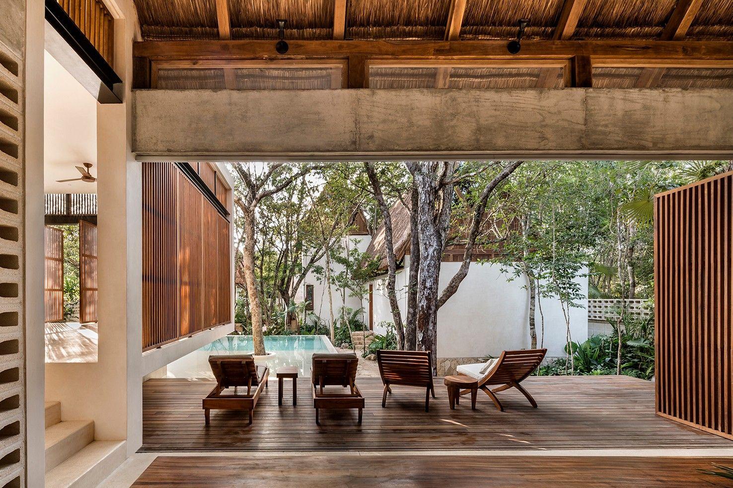 新作 | Jaque Studio:玛雅丛林的小型精品酒店Jungle Keva hotel