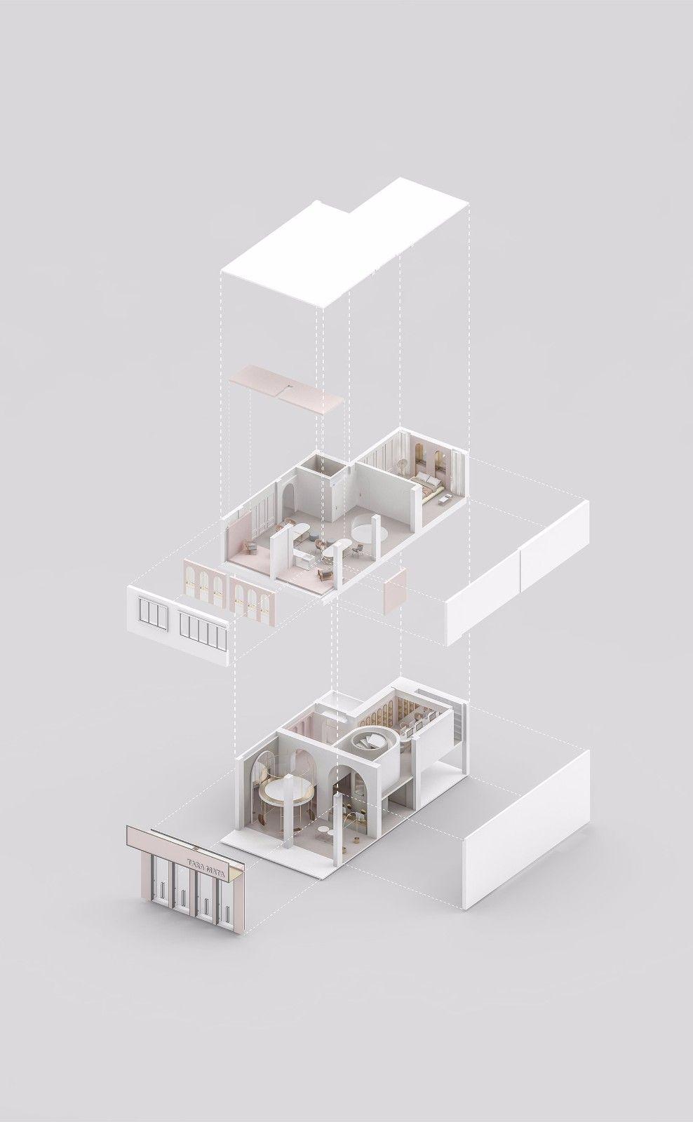 拱形下的无限空间,金华 TARA MATA 设计师买手店 加减智库设计工作室