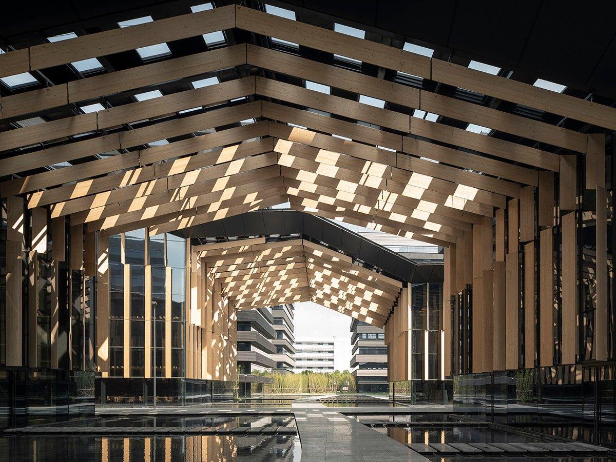 上海虹桥展汇 / 隈研吾建筑都市设计事务所