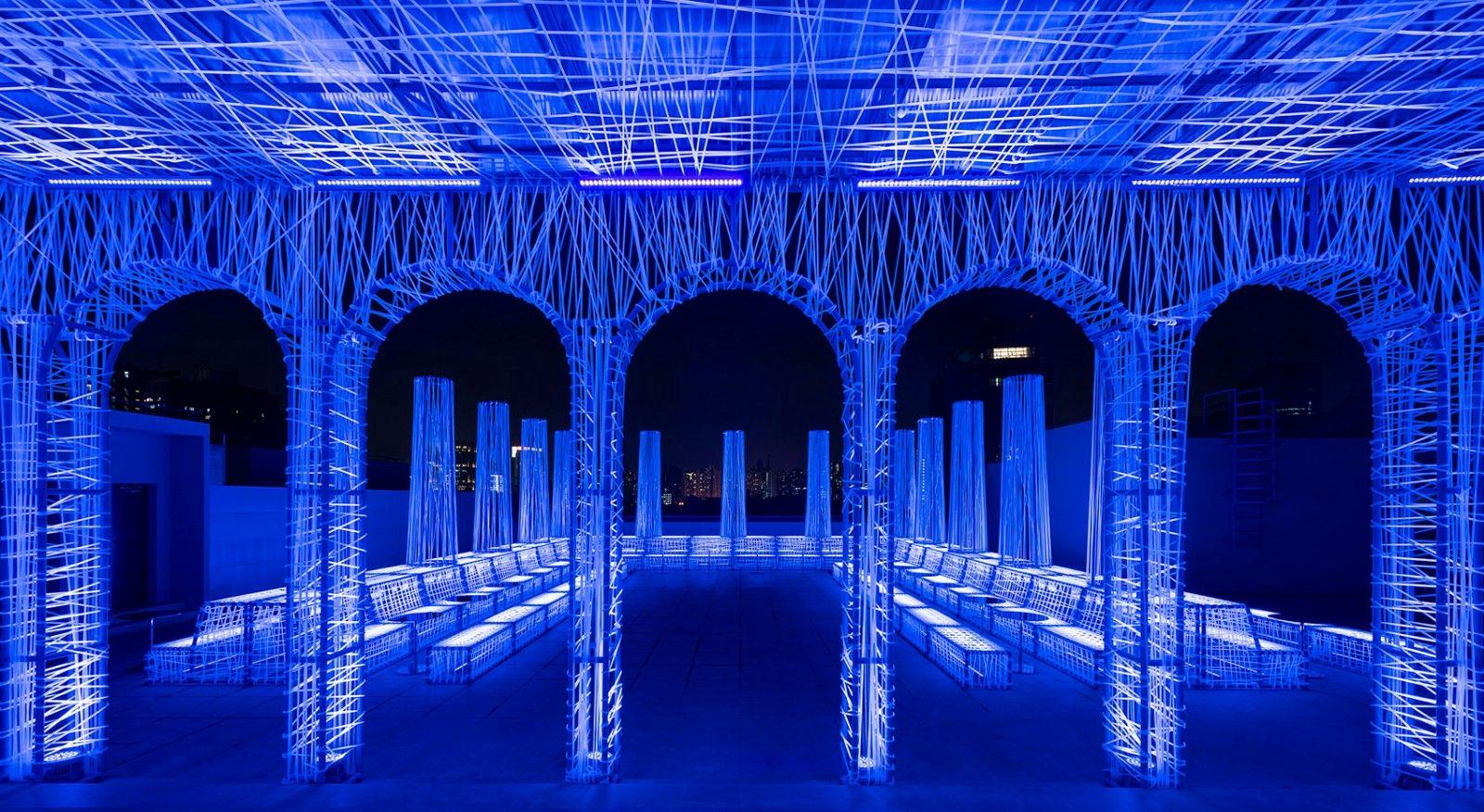 新作 | Alberto Caiola Studio:上海 Nyx屋顶酒吧