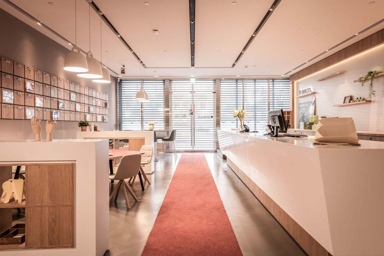 Spaces Hung Sheng共享办公室 / D&P Associates