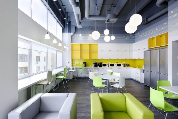 通信行业办公室设计案例丨华可可设计