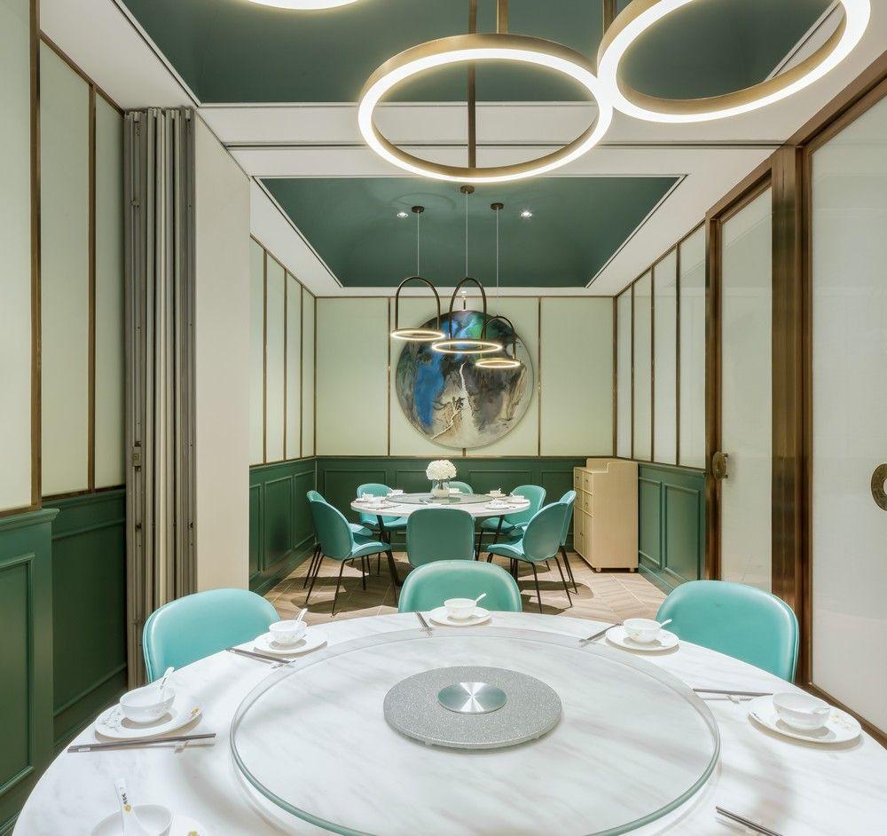 485平㎡时尚小资、怀旧感的港式餐厅设计