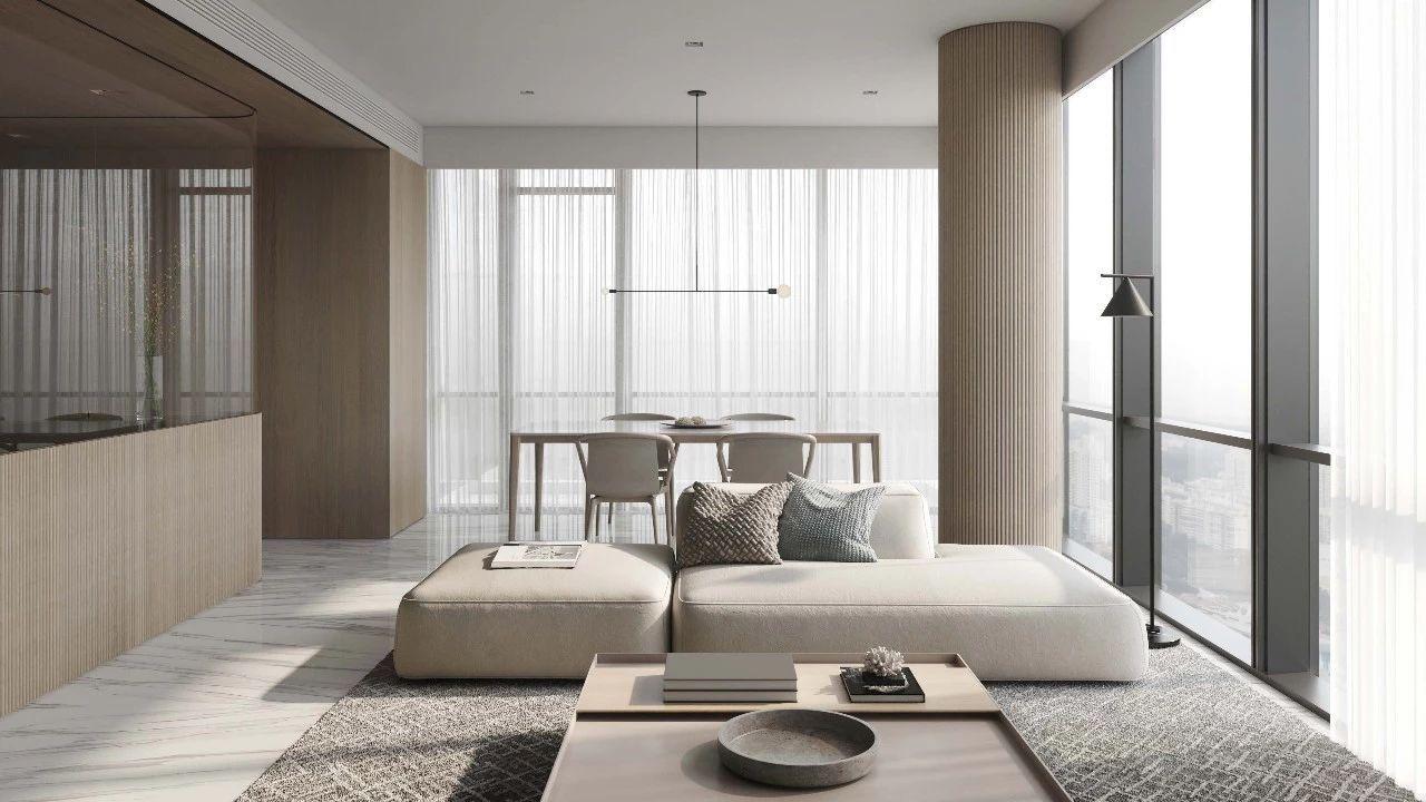 天然材质带给空间的极致纯净与享受!