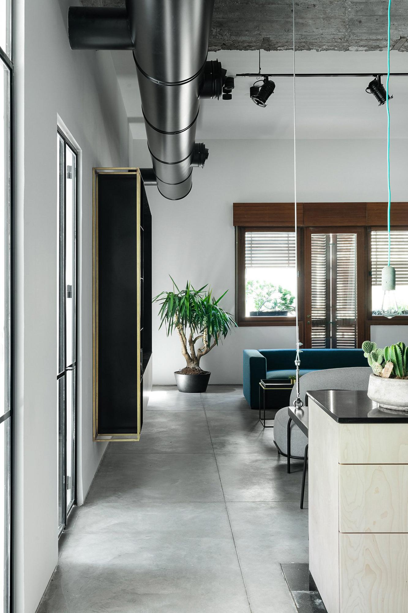 玩转个性,90m2雅法工业风公寓改造!