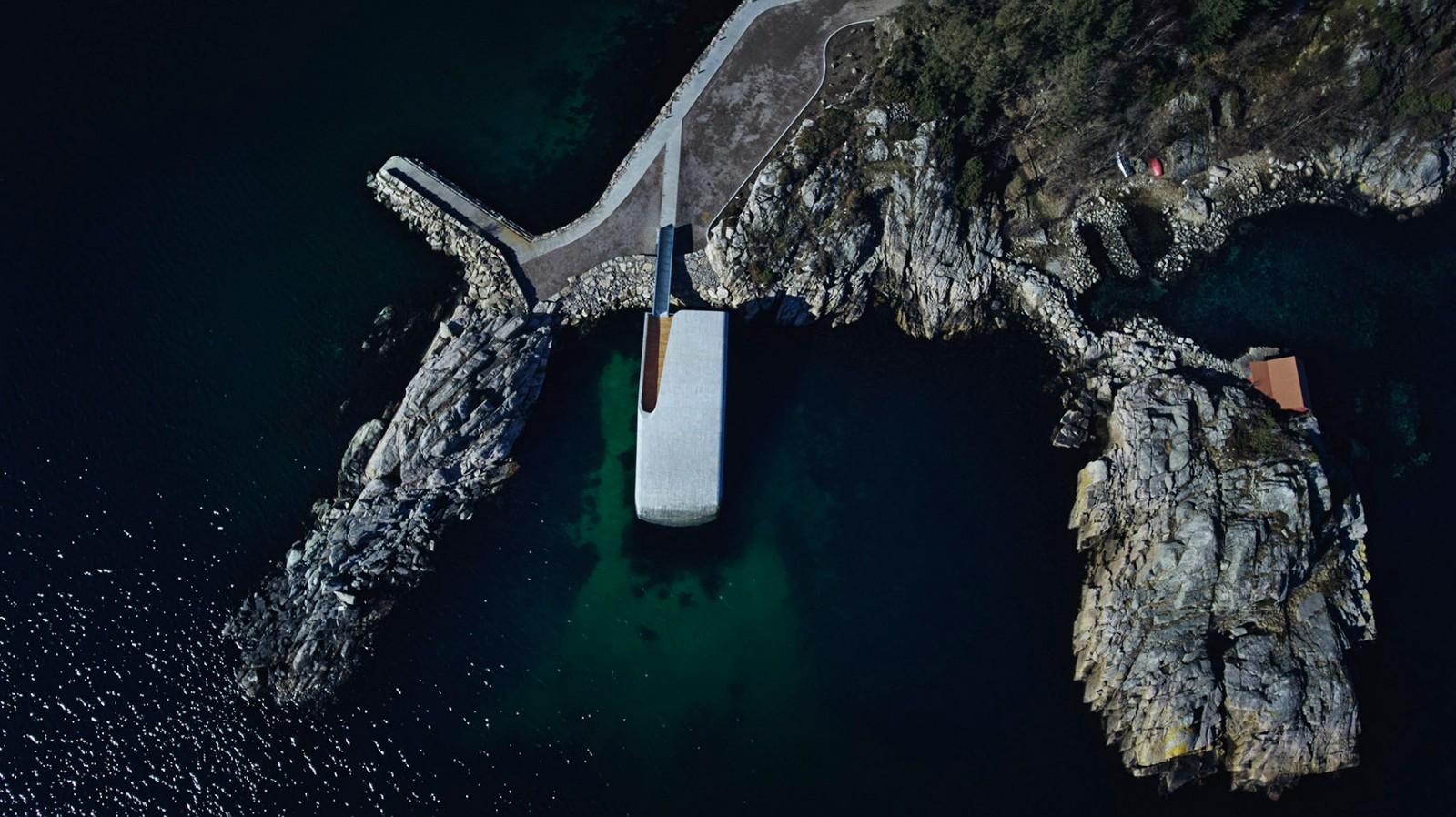 """180°全景水下视野的""""Under""""餐厅,欧洲仅此一家!"""