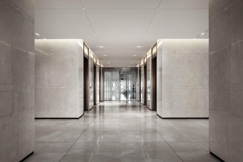 携高瞻远瞩之势,奢阔尺度笔法下的现代办公空间 | 上上国际(香港)设计