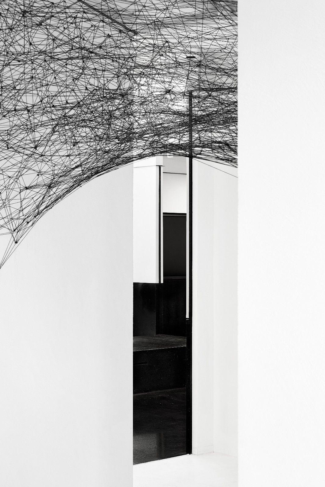 极致黑白空间 | 千墨设计