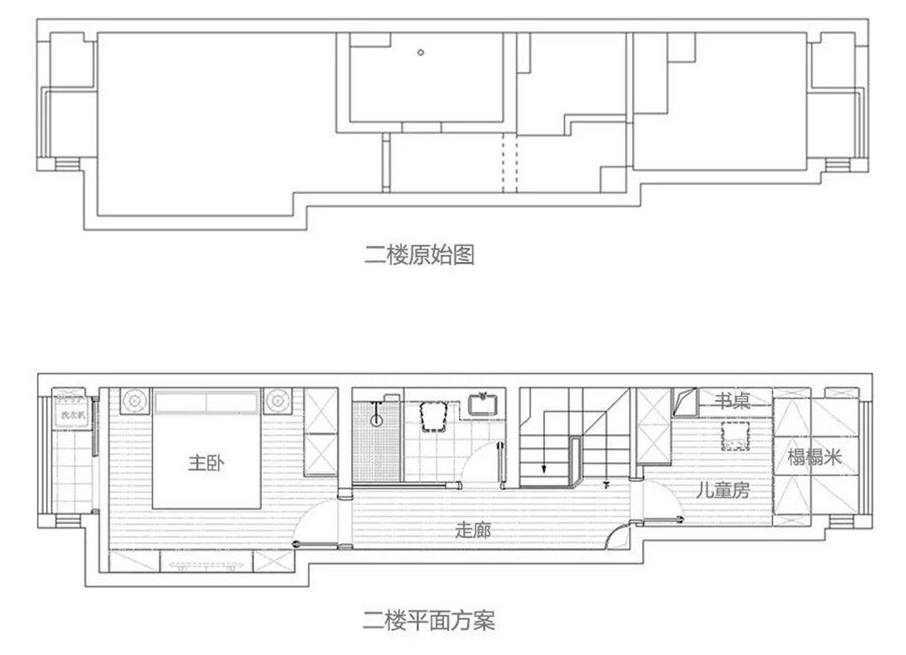 在客厅设计了个隔断,让整个家都变了样 壹石设计