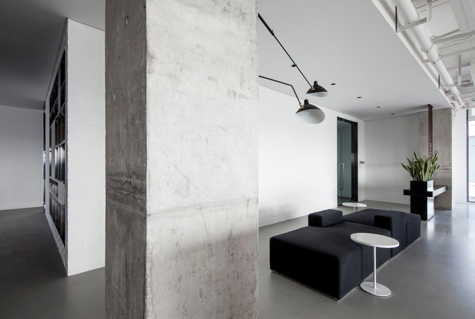 方磊作品 | 浦江边上的极简空间 ---壹舍设计办公室