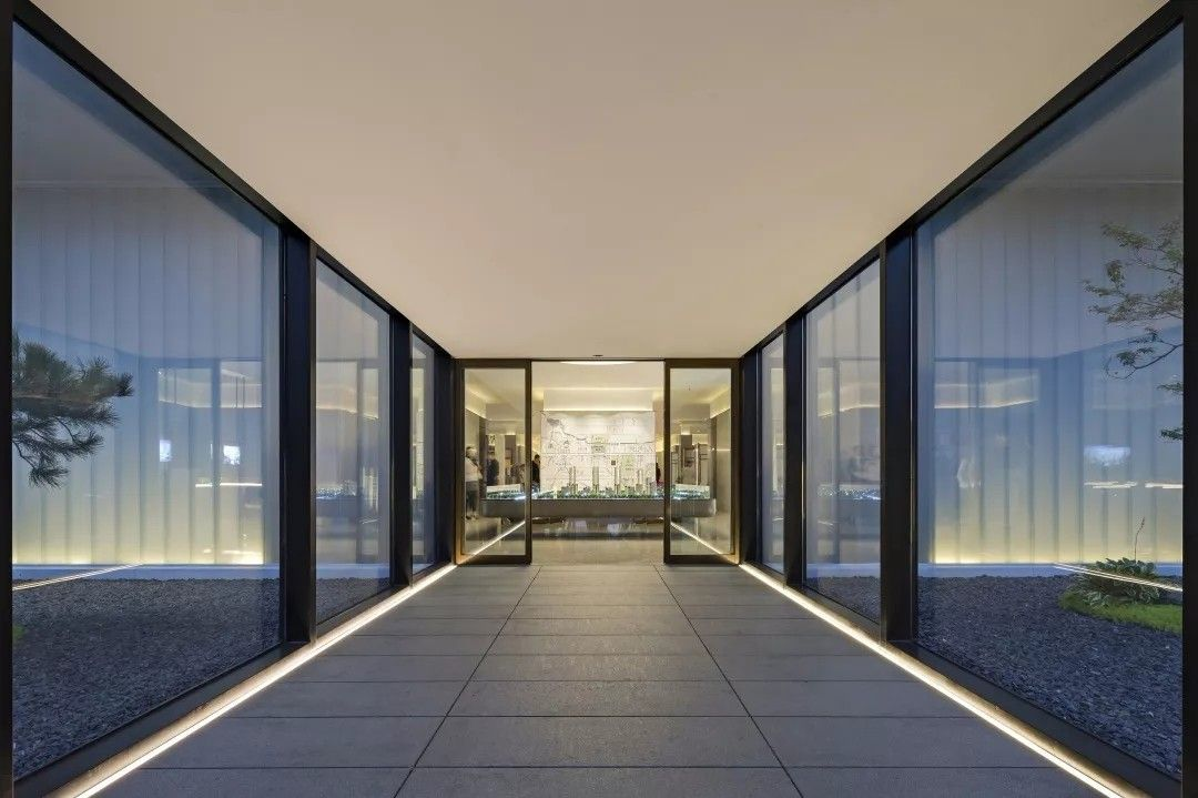 美景东望展示中心丨生活,是回归化繁为简的纯粹