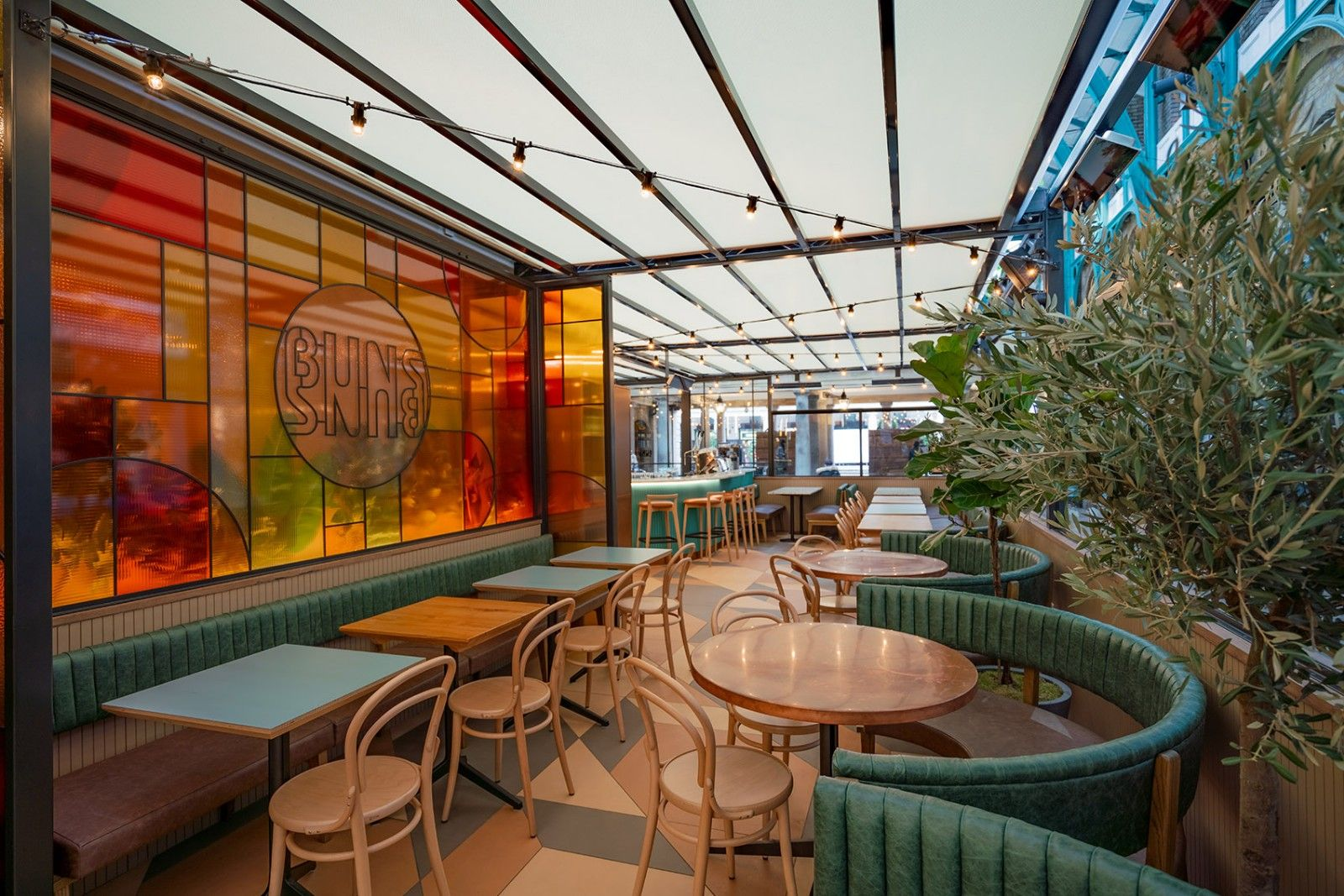 Buns & Buns餐厅,伦敦 / Michaelis Boyd