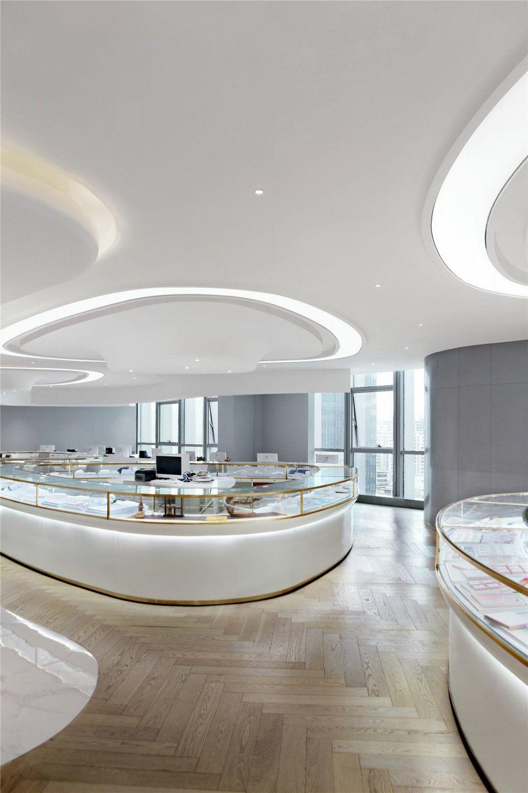 珠光宝气 旖旎知韵——深圳百宝汇珠宝展厅 梓晴设计