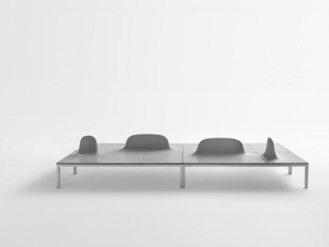 自带微景观,多模块组合座椅