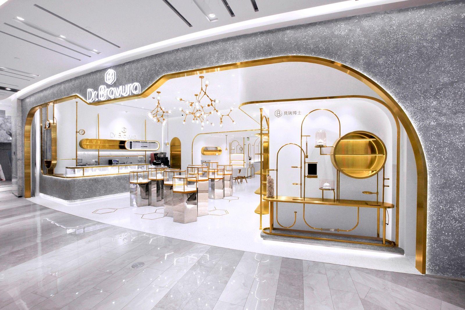 精致优雅,上海Dr.Bravura燕窝甜品实验室 上海towodesign堂晤设计