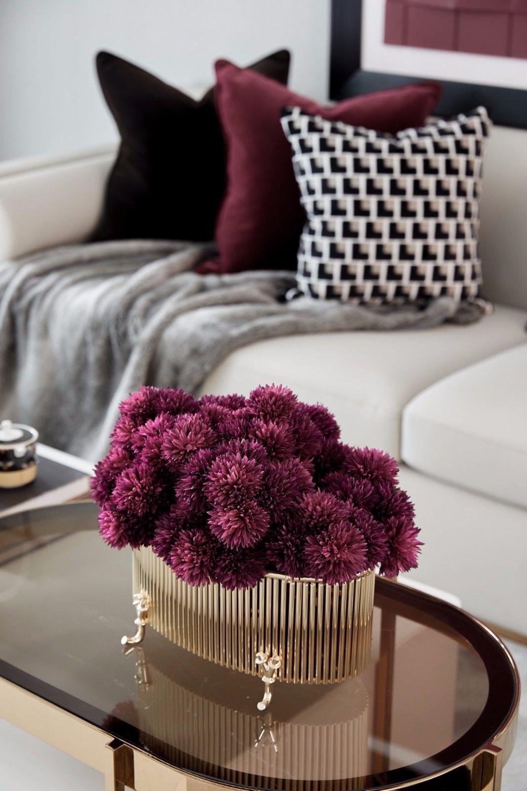 ''红梨色''点缀的奢丽雅致住宅丨这是一场以取悦自我为主题的视觉盛宴 D.DECOR DESIGN - 4