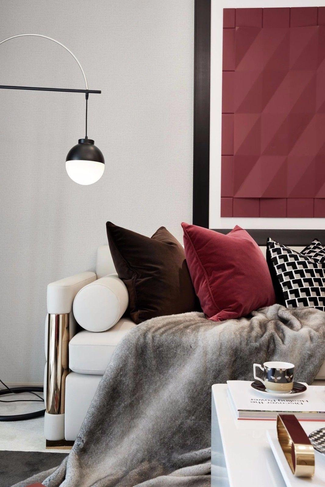 ''红梨色''点缀的奢丽雅致住宅丨这是一场以取悦自我为主题的视觉盛宴 D.DECOR DESIGN - 8