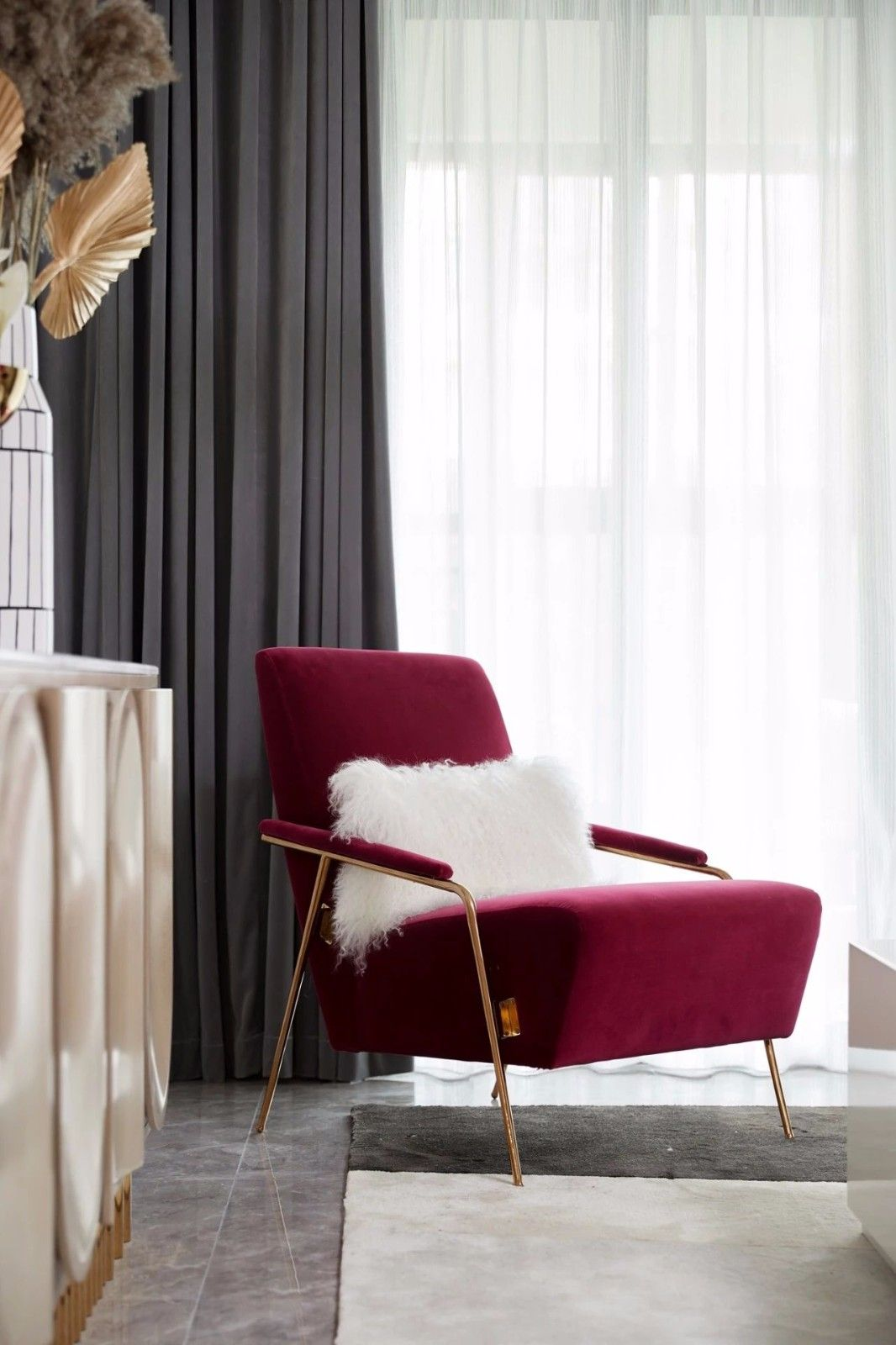 ''红梨色''点缀的奢丽雅致住宅丨这是一场以取悦自我为主题的视觉盛宴 D.DECOR DESIGN - 10