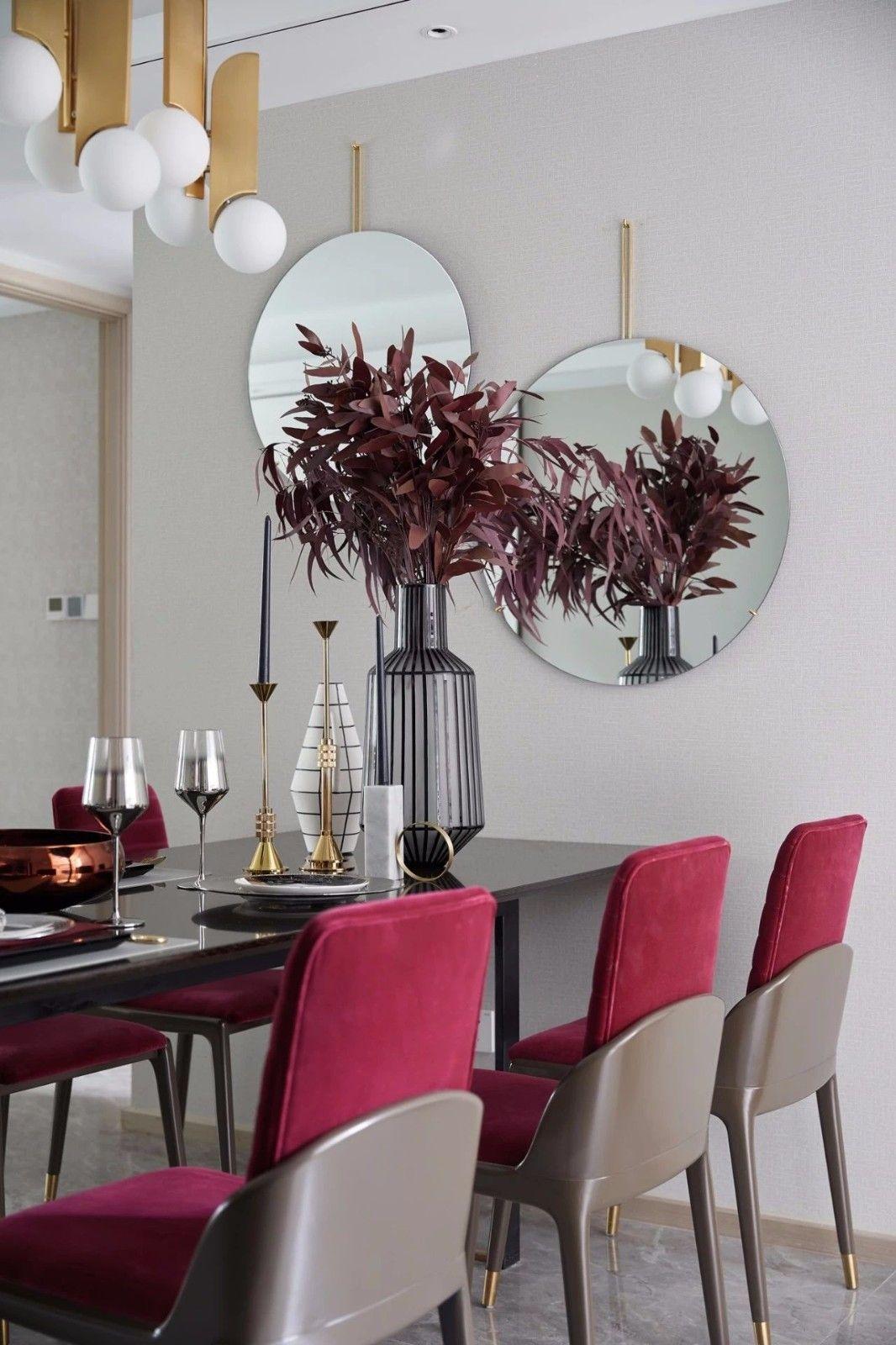 ''红梨色''点缀的奢丽雅致住宅丨这是一场以取悦自我为主题的视觉盛宴 D.DECOR DESIGN - 11
