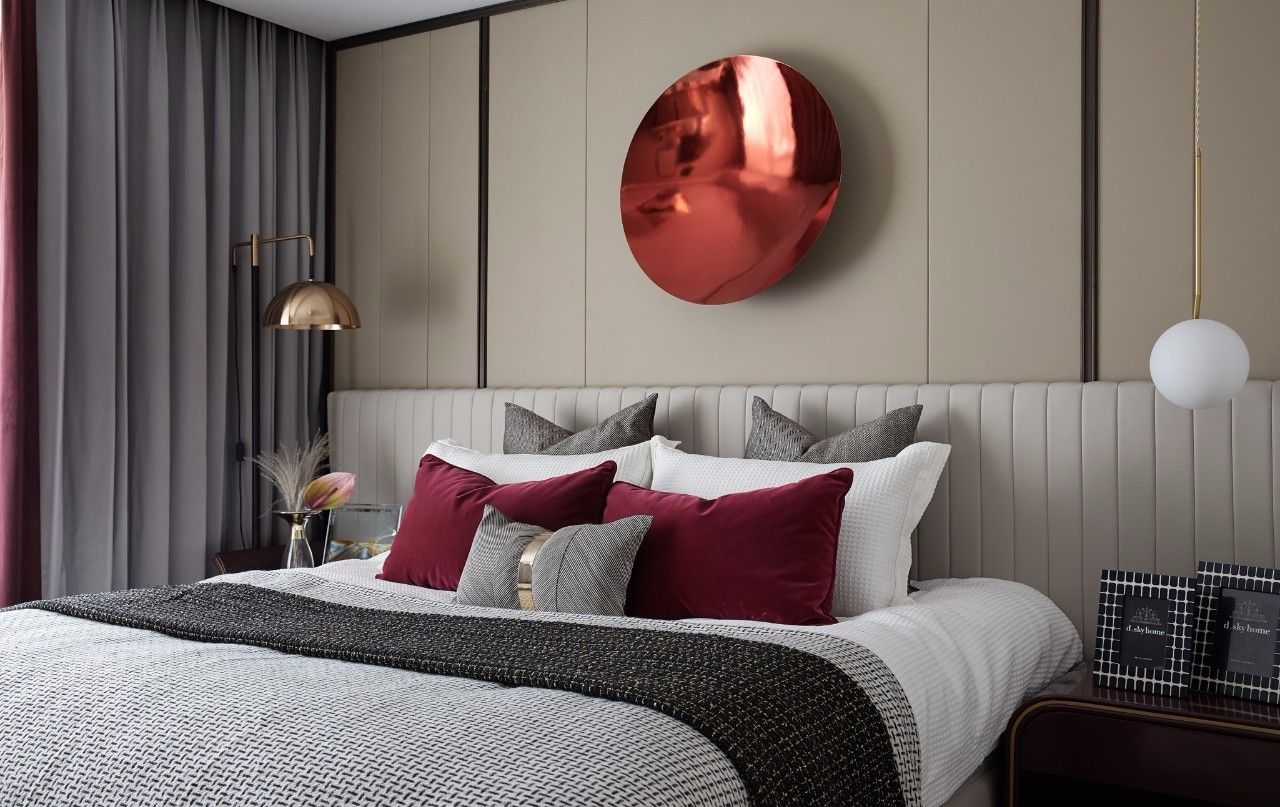 ''红梨色''点缀的奢丽雅致住宅丨这是一场以取悦自我为主题的视觉盛宴 D.DECOR DESIGN - 18