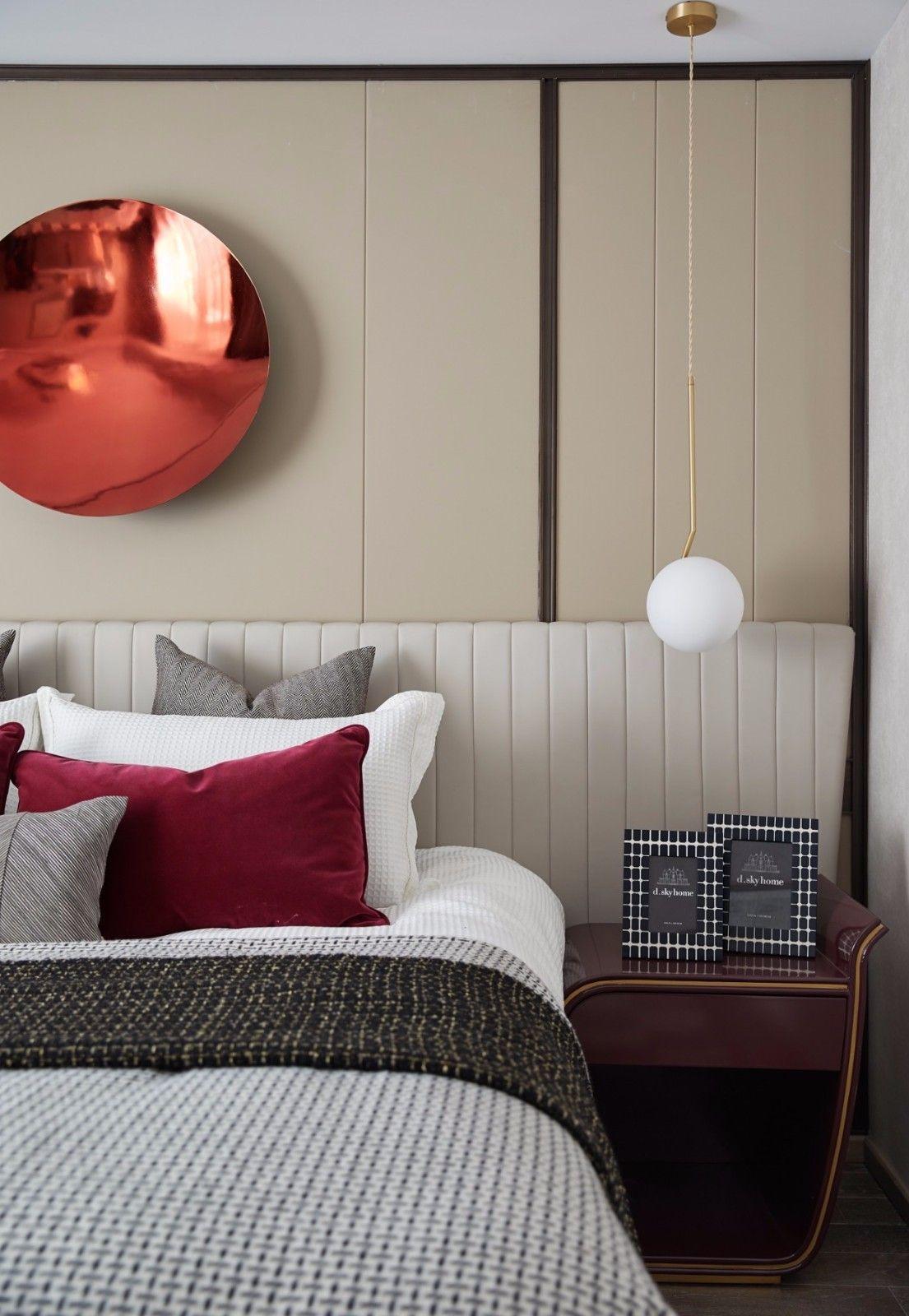 ''红梨色''点缀的奢丽雅致住宅丨这是一场以取悦自我为主题的视觉盛宴 D.DECOR DESIGN - 19