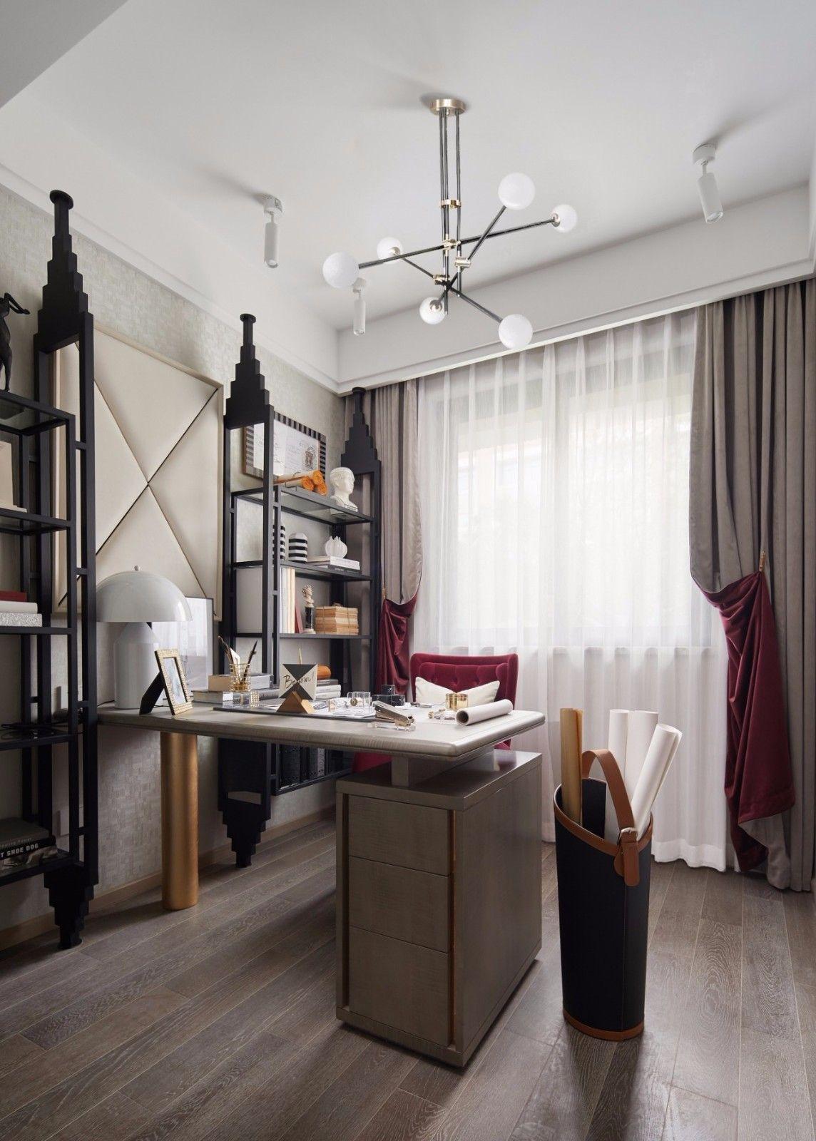 ''红梨色''点缀的奢丽雅致住宅丨这是一场以取悦自我为主题的视觉盛宴 D.DECOR DESIGN - 20