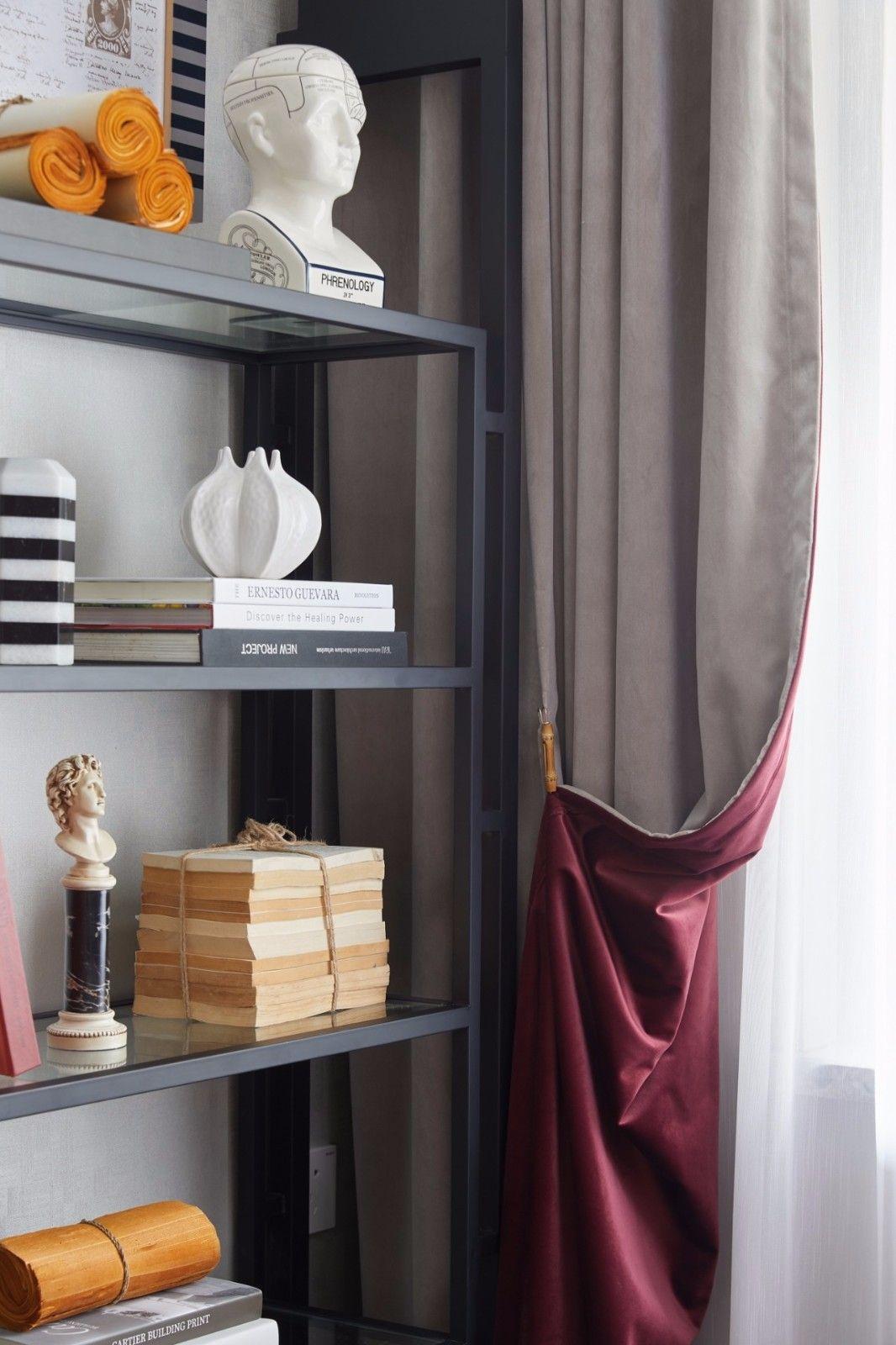 ''红梨色''点缀的奢丽雅致住宅丨这是一场以取悦自我为主题的视觉盛宴 D.DECOR DESIGN - 21