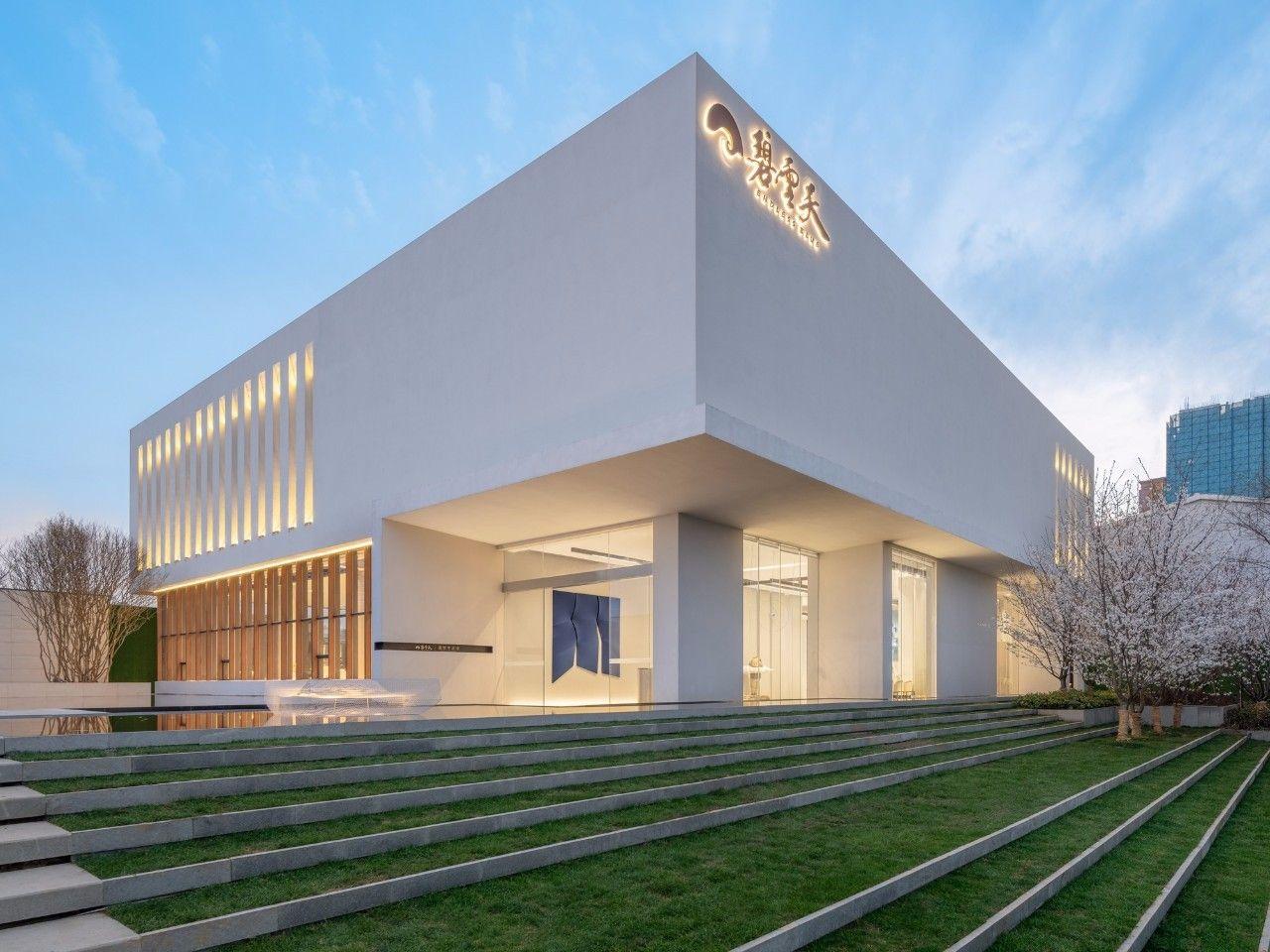 【G&K新作】武汉最艺术的沉浸体验式售楼处设计|G&K建筑设计咨询有限公司 - 1