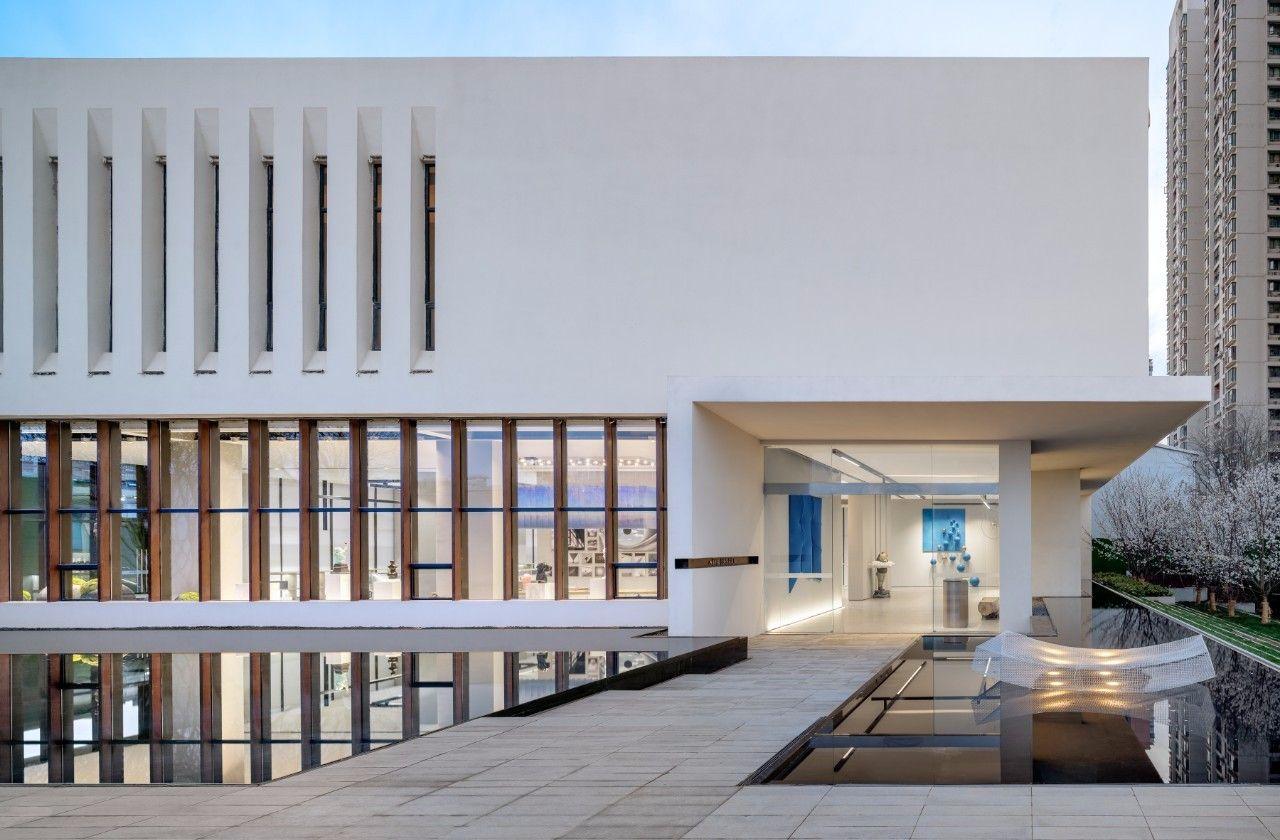 【G&K新作】武汉最艺术的沉浸体验式售楼处设计|G&K建筑设计咨询有限公司 - 2