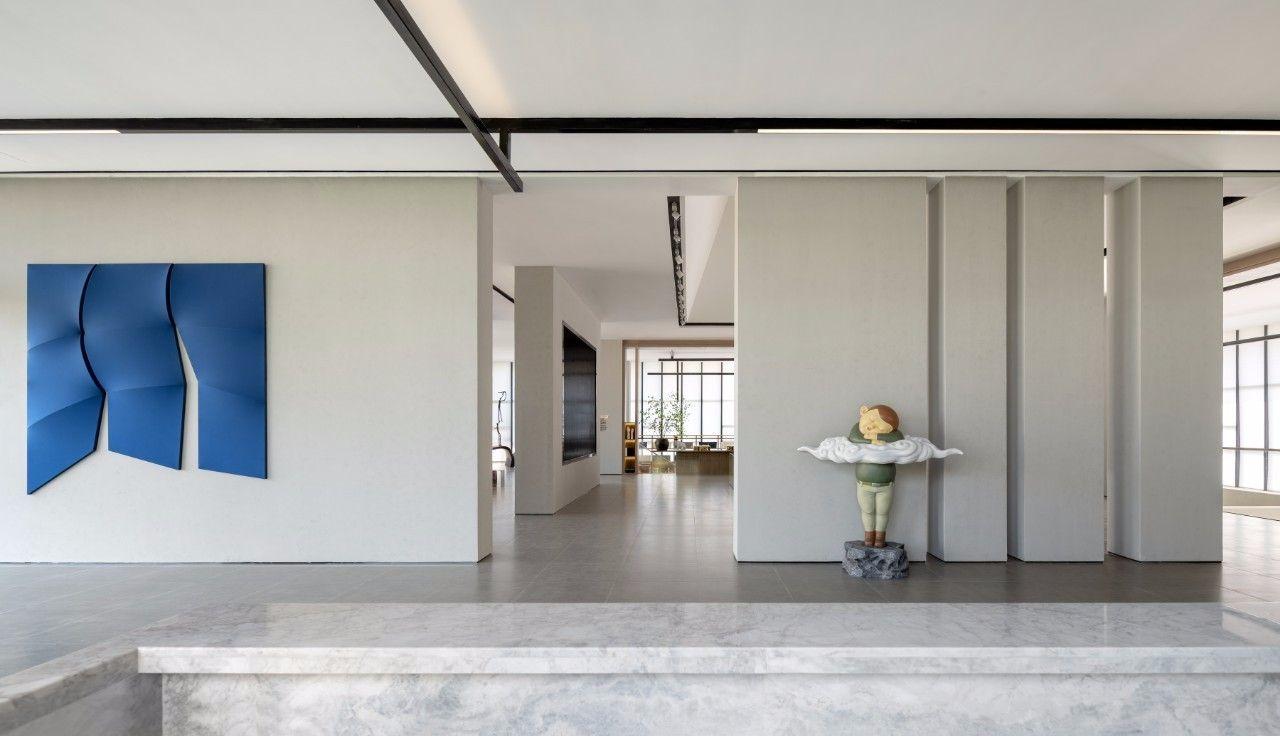 【G&K新作】武汉最艺术的沉浸体验式售楼处设计|G&K建筑设计咨询有限公司 - 3