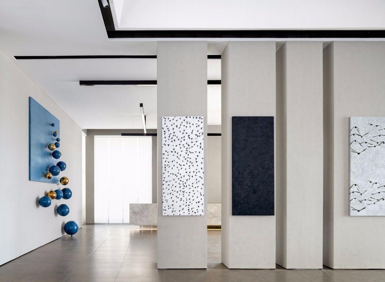 【G&K新作】武汉最艺术的沉浸体验式售楼处设计|G&K建筑设计咨询有限公司 - 4