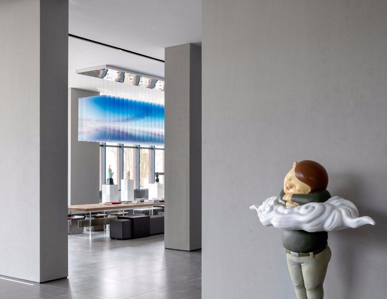 【G&K新作】武汉最艺术的沉浸体验式售楼处设计|G&K建筑设计咨询有限公司 - 5