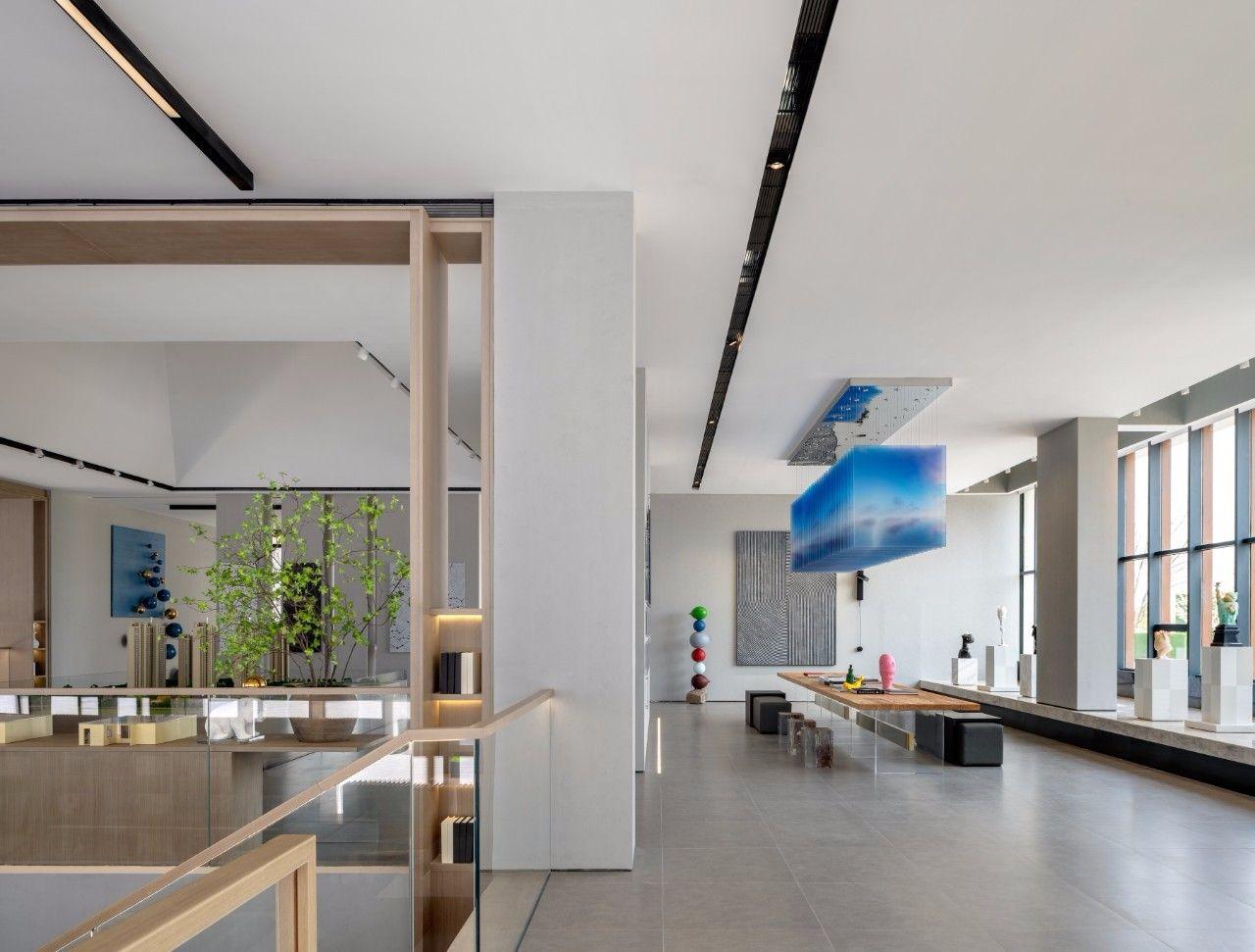 【G&K新作】武汉最艺术的沉浸体验式售楼处设计|G&K建筑设计咨询有限公司 - 6