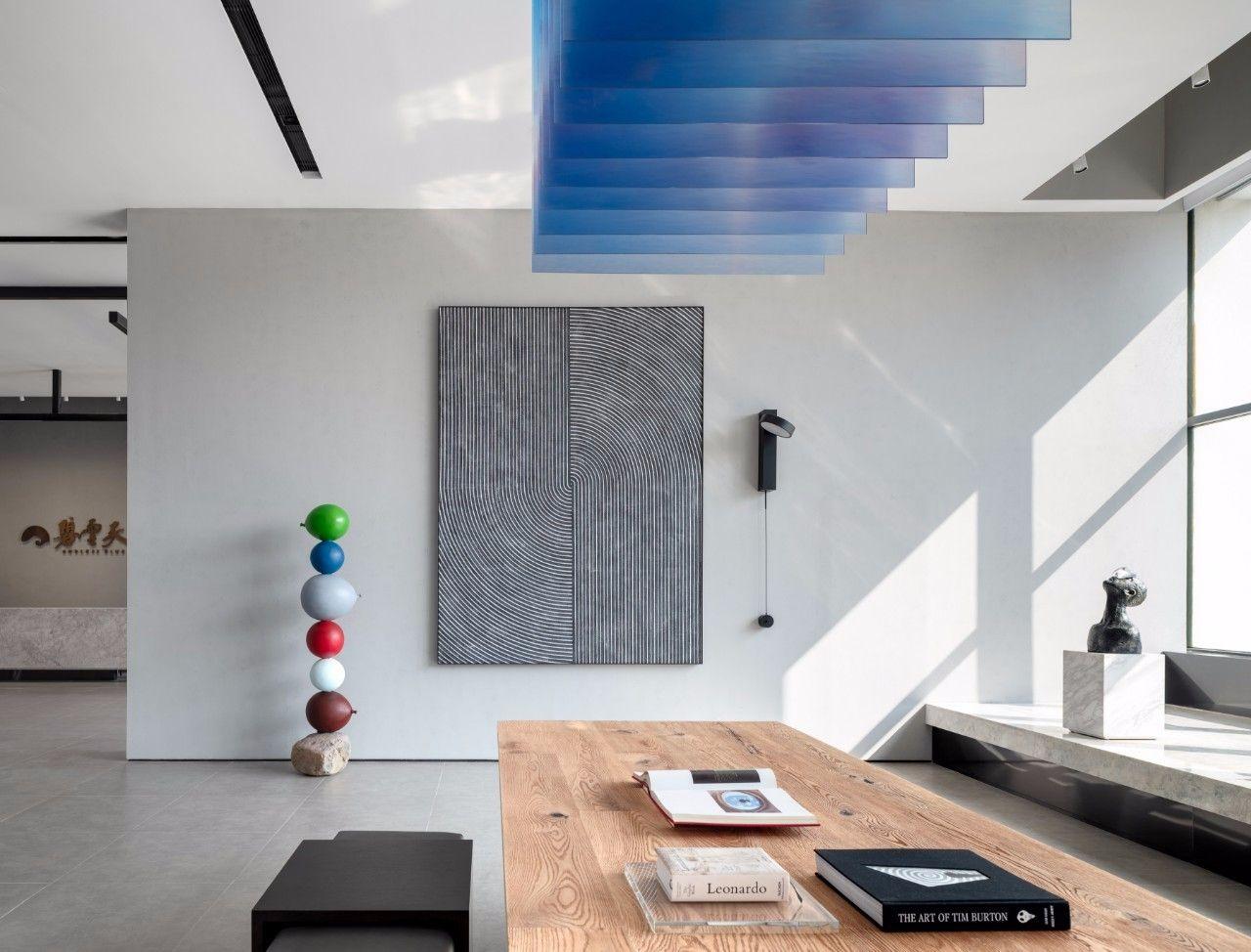 【G&K新作】武汉最艺术的沉浸体验式售楼处设计|G&K建筑设计咨询有限公司 - 7